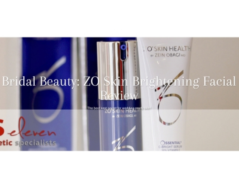 Bridal Beauty ZO Skin Brightening Facial Review