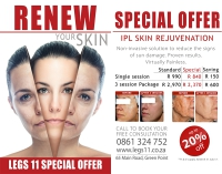It's Skin Rejuvenation Season at Legs eleven!