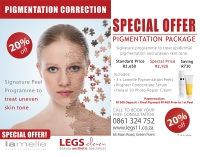 Our signature combination treatment for Pigmentation Correction!